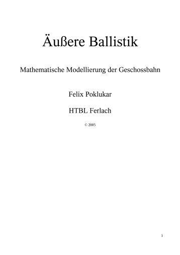 Ballistik - Skriptum
