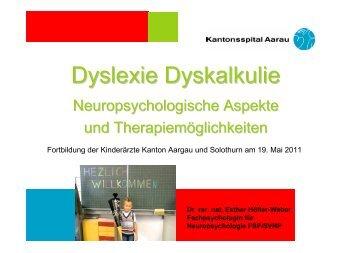 Dyslexie Dyskalkulie
