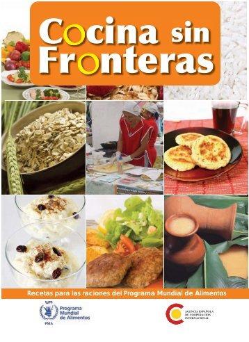 Recetas para las raciones del Programa Mundial de Alimentos