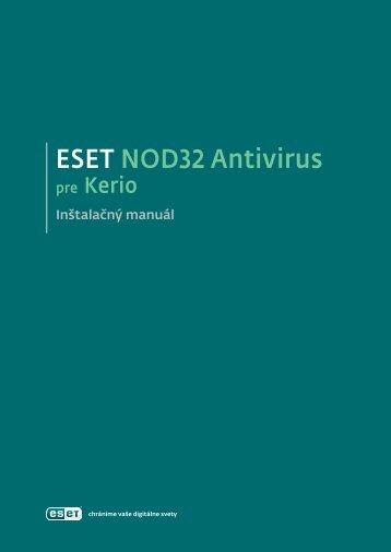 ESET NOD32 Antivirus pre Kerio