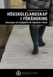 Utmaningar och möjligheter för högskolan i Borås - BADA ...