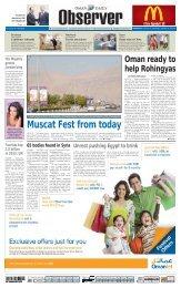 Passenger Traffic At Muscat airport Rises - Oman Observer