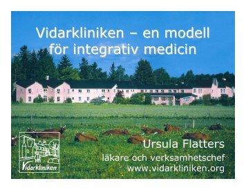 Ursula Flatters presentation (Pdf-fil, 3 Mb)