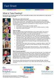 What Is Tube Feeding? - Kids Health