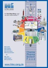 HiTec Zang Hauptkatalog 2010/2011 - HiTec Zang GmbH