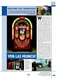 high-end 2007 monachium viva las munich! - Audio