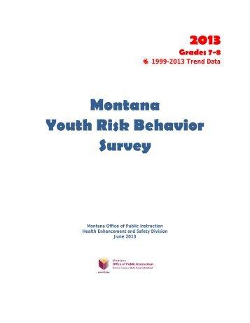 Otpt Guidelines Montana Office Of Public Instruction