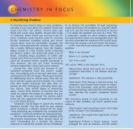 CHEMISTRY IN FOCUS - Cengage Learning