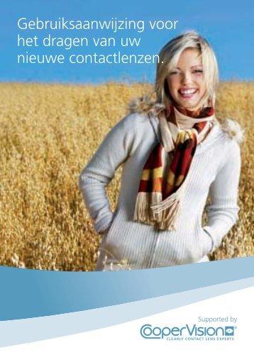 Gebruiksaanwijzing voor het dragen van uw nieuwe ... - CooperVision