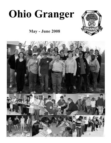 May - June 2008 - Ohio State Grange