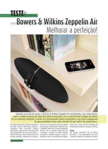 Bowers & Wilkins Zeppelin Air