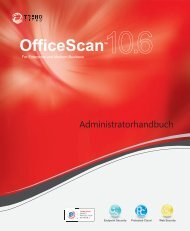 OfficeScan 10.6 Administrator's Guide - Online Help Home - Trend ...