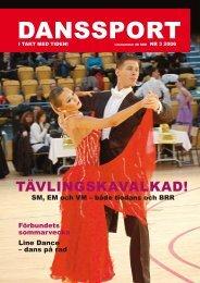 Danssport nr 3 - 2006 - IdrottOnline Förbund - en del av svensk idrott
