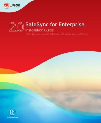 SafeSync Documentation - Trend Micro? Online Help