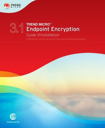Installation de Full Disk Encryption - Online Help Home - Trend Micro