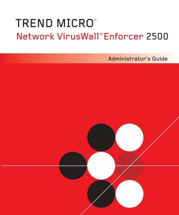 Network VirusWall Enforcer 2500 - Trend Micro? Online Help