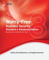 Worry-FreeTM - Trend Micro? Online Help