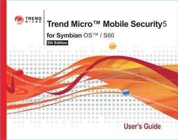Trend Micro Mobile Security for Symbian OS/S60 3rd Edition User's ...