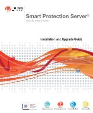 Trend Micro? Smart Protection Server 2.1 Installation and Upgrade ...
