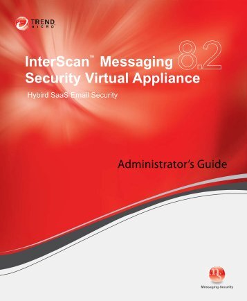 InterScanTM Messaging Security Virtual Appliance - Online Help ...