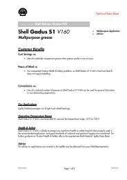 Shell Gadus S1 V160 - Parsian Super Lubricants