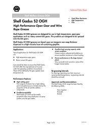 Shell Gadus S2 OGH - Parsian Super Lubricants