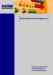 Geschäftsprozessmanagement - CORAK Unternehmensberatung ...