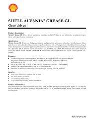 Alvania GL Grease - Shell