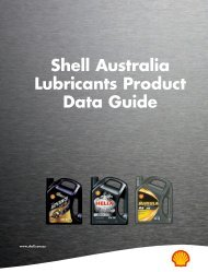 Shell Australia Lubricants Product Data Guide - Parsian Super ...