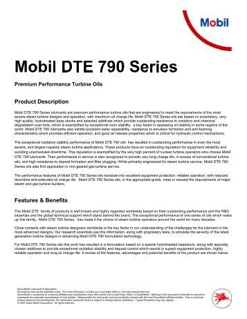 Mobil DTE 790 Oil.pdf - Parsian Super Lubricants
