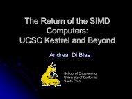 Power Point Slides in PDF - University of California, Santa Cruz