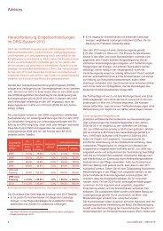 Advisory Herausforderung Entgeltverhandlungen im ... - PwCPlus