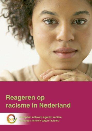 Reageren op racisme in Nederland - Horus