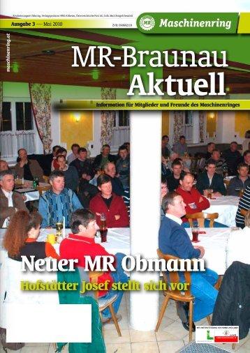 Neuer MR Obmann