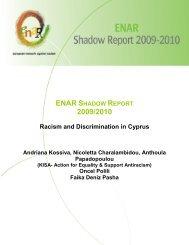 ENAR SHADOW REPORT 2009/2010 - Horus