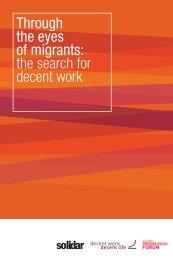 Through the Eyes of Migrants - Horus