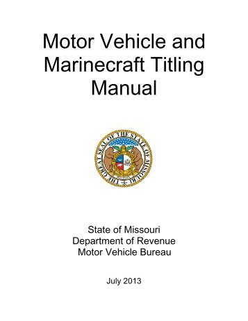 Form 1062 affidavit for mechanic lien title missouri for Affidavit for repossessed motor vehicle texas form