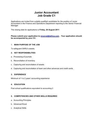 Job description for Tournament Administrator - V1 - SuperSport