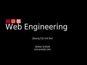Einführung in Perl/CGI - Universität Ulm