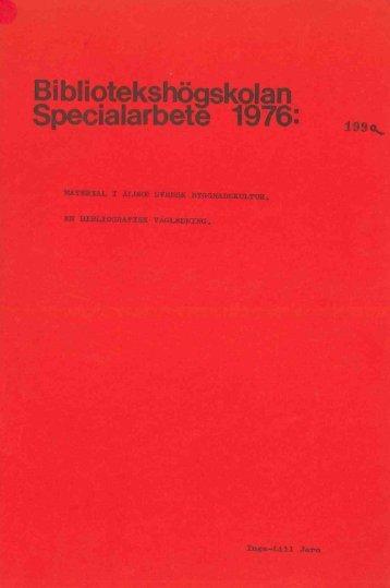 1976 nr 199.pdf - BADA - Högskolan i Borås