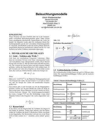 Praktikum design und entwicklung eines universit t ulm for Praktikum design