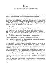 Hinweise und Abkürzungen / Sachregister - Deutsche ...