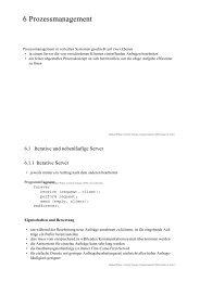 Folien Kapitel 6 - Universität Ulm