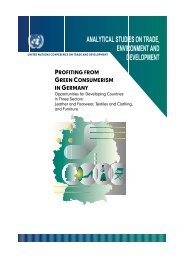 profiting from green consumerism in germany - Unctad