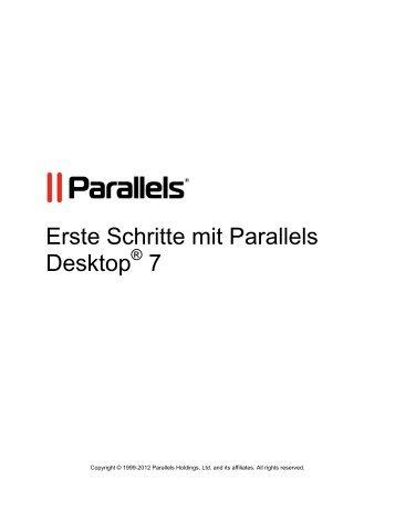 Erste Schritte mit Parallels Desktop® 7