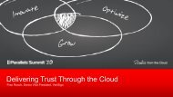 Delivering Trust Through the Cloud - Parallels