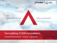 Demystifying ICANN Accreditation - Parallels