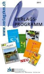 ZKM Verlagsprogramm 2011