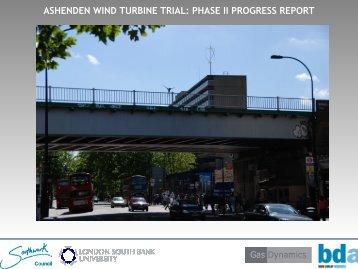 ashenden wind turbine trial: phase ii progress report - Wind-power ...