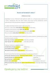 Deutsch mit Promedica24. Lektion 2